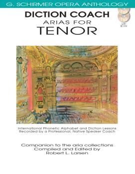 Diction Coach - G. Schirmer Opera Anthology (Arias for Tenor) (Arias f (HL-50486258)