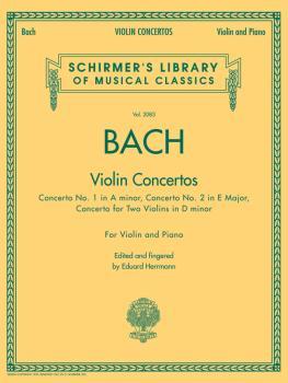 Bach - Violin Concertos: Schirmer's Library of Musical Classics, Vol.  (HL-50486769)