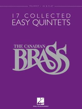 17 Collected Easy Quintets (Trumpet 1 in B-flat) (HL-50486948)