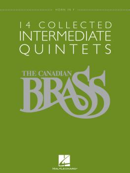14 Collected Intermediate Quintets (Horn in F) (HL-50486956)