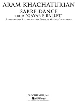 Sabre Dance from Gayane Ballet (Xylophone and Piano) (HL-50490096)