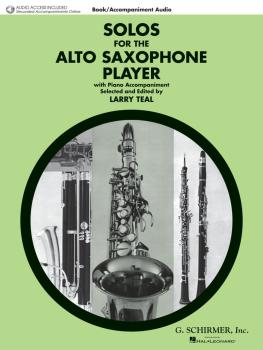 Solos for the Alto Saxophone Player: Alto Sax and Piano with Online Au (HL-50490432)