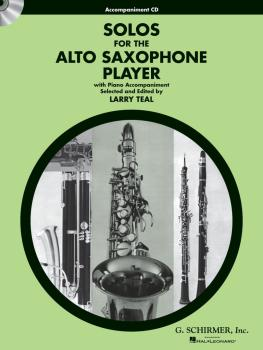 Solos for the Alto Saxophone Player: Alto Sax and Piano Accompaniment  (HL-50490433)