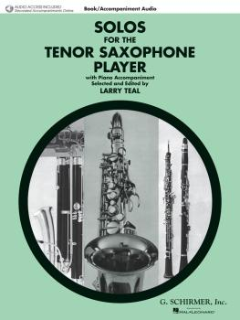 Solos for the Tenor Saxophone Player: Tenor Sax and Piano with a CD of (HL-50490436)