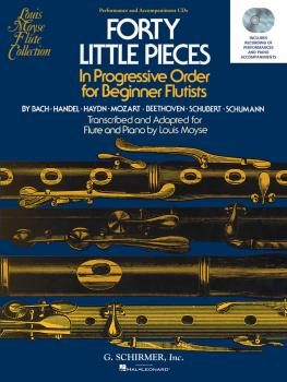 40 Little Pieces in Progressive Order for Beginner Flutists: Set of Tw (HL-50490445)