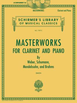Masterworks for Clarinet and Piano: Set of Two Accompaniment CDs Schir (HL-50490450)