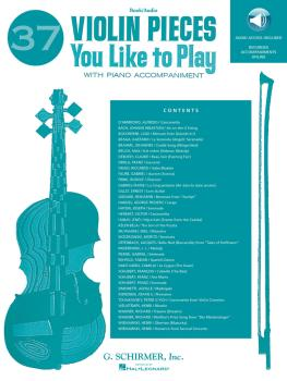 37 Violin Pieces You Like to Play: Book/2-Enhanced CDs Pack (HL-50490453)