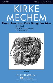 Three American Folk Songs for Men (HL-50490576)