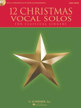 12 Christmas Vocal Solos (for Classical Singers - Low Voice, Book/CD - (HL-50490611)