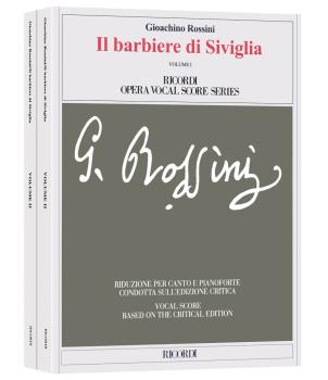 Il barbiere di Siviglia: Vocal Score based on the Critical Edition (HL-50491307)