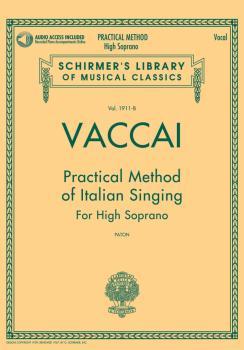 Vaccai: Practical Method of Italian Singing: High Soprano, Book/CD (HL-50498712)