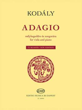 Adagio for Viola and Piano - New Edition (HL-50499738)