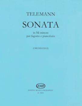 Sonata in E minor (for Bassoon and Piano) (HL-50510557)