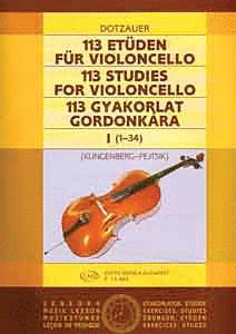 113 Studies - Volume 1 (Cello Solo) (HL-50510888)