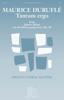 Tantum Ergo (from Quatre Motets sur des thèmes grégoriens, Op. 10 Fren (HL-50565712)
