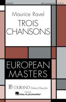 Trois Chansons (HL-50600022)