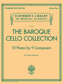 The Baroque Cello Collection: Schirmer's Library of Musical Classics V (HL-50600391)