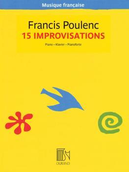 15 Improvisations - Musique française series (Piano Solo) (HL-50600410)