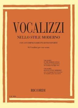 Vocalises in the Modern Style [Vocalizzi Nello Stile Moderno] (High Vo (HL-50600411)