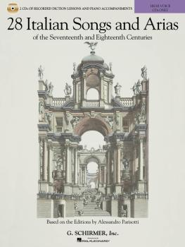 28 Italian Songs & Arias of the 17th and 18th Centuries - High Voice:  (HL-50600451)