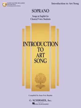 Introduction to Art Song for Soprano: Songs in English for Classical V (HL-50600557)