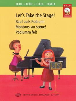 Let's Take the Stage!: Easy Repertoire Pieces for Young Flutists (HL-50600646)