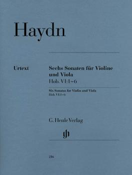6 Sonatas for Violin and Viola (String Duo) (HL-51480216)