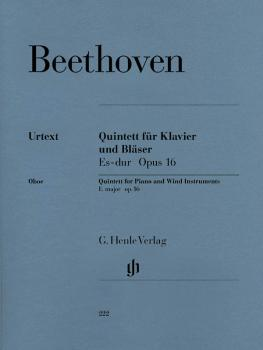 Quintet for Piano and Wind Instruments in E-flat Major, Op. 16 (for Ob (HL-51480222)