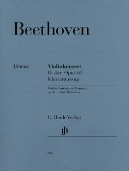 Concerto in D Major Op. 61: Violin and Piano Reduction (HL-51480326)