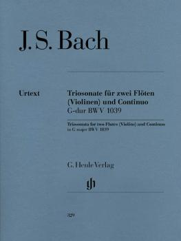 Trio Sonata for Two Flutes and Continuo in G Major, BWV 1039 (with rec (HL-51480329)