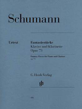 Fantasy Pieces, Op. 73: Revised Edition for Clarinet & Piano with part (HL-51480416)
