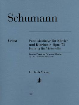Fantasy Pieces for Piano and Clarinet Op. 73 (Cello and Piano) (HL-51480422)
