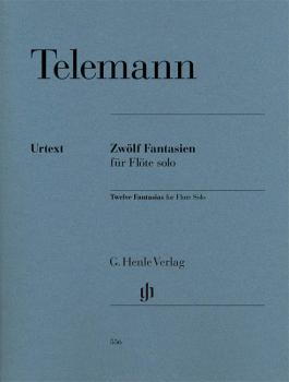 12 Fantasias for Flute Solo TWV 40:2-13 (HL-51480556)