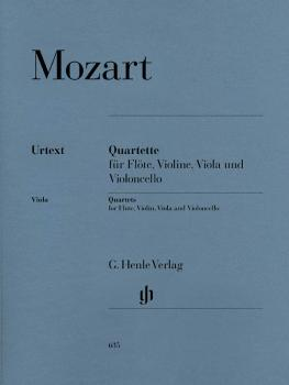 Quartets for Flute, Violin, Viola, and Violoncello (HL-51480635)