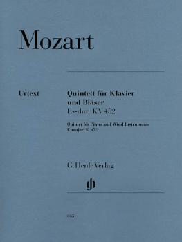 Quintet for Piano and Wind Instruments in E-flat Major, K. 452 (for Ob (HL-51480665)