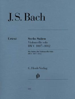 6 Suites for Violoncello Solo BWV 1007-1012 (Cello Solo) (HL-51480666)