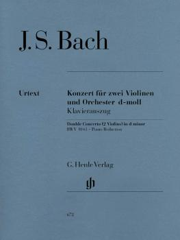 Concerto for 2 Violins and Orchestra in D Minor BWV 1043: Violin and P (HL-51480672)
