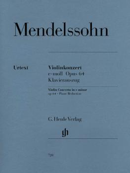 Concerto in E minor, Op. 64 (Violin and Piano) (HL-51480720)