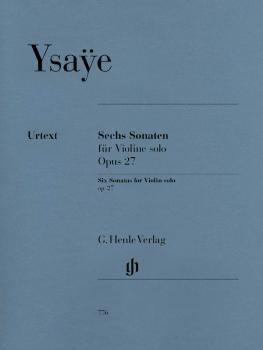 6 Sonatas for Violin Solo Op. 27 (HL-51480776)