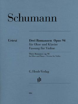 3 Romances for Oboe and Piano Op. 94 (Version for Violin) (HL-51480816)