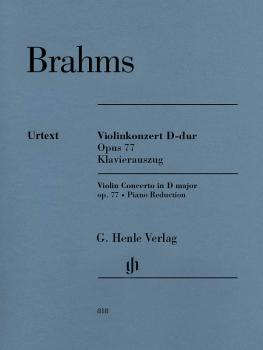 Violin Concerto in D Major, Op. 77: Violin and Piano reduction With Ma (HL-51480818)