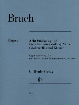 8 Pieces, Op. 83 (for Clarinet Violin, Viola Violoncello and Piano) (HL-51480853)
