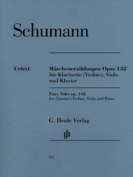 Fairy Tales, Op. 132 (Märchenerzählungen): Clarinet in B-flat Violin,  (HL-51480917)