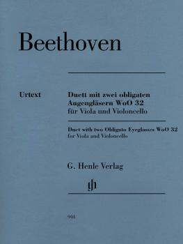 Duet with Two Obligato Eyeglasses, WoO 32: Viola and Violoncello Set o (HL-51480944)