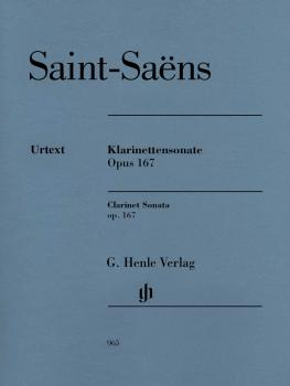 Clarinet Sonata, Op. 167 (HL-51480965)