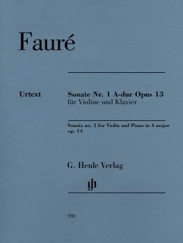 Sonata No. 1 in A Major, Op. 13 for Violin and Piano (With Marked and  (HL-51480980)