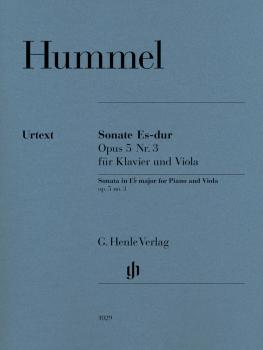 Sonata for Piano and Viola in E-flat Major, Op. 5, No. 3 (With Marked  (HL-51481029)