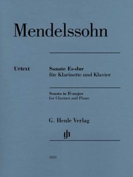 Sonata in E-flat Major: Clarinet in B-flat and Piano (HL-51481033)