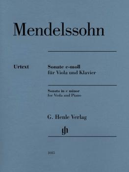 Sonata in C Minor (Viola and Piano) (HL-51481035)