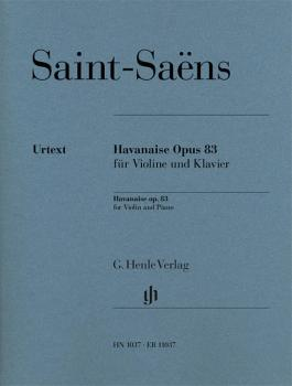 Havanaise, Op. 83: Violin and Piano with marked and unmarked string pa (HL-51481037)